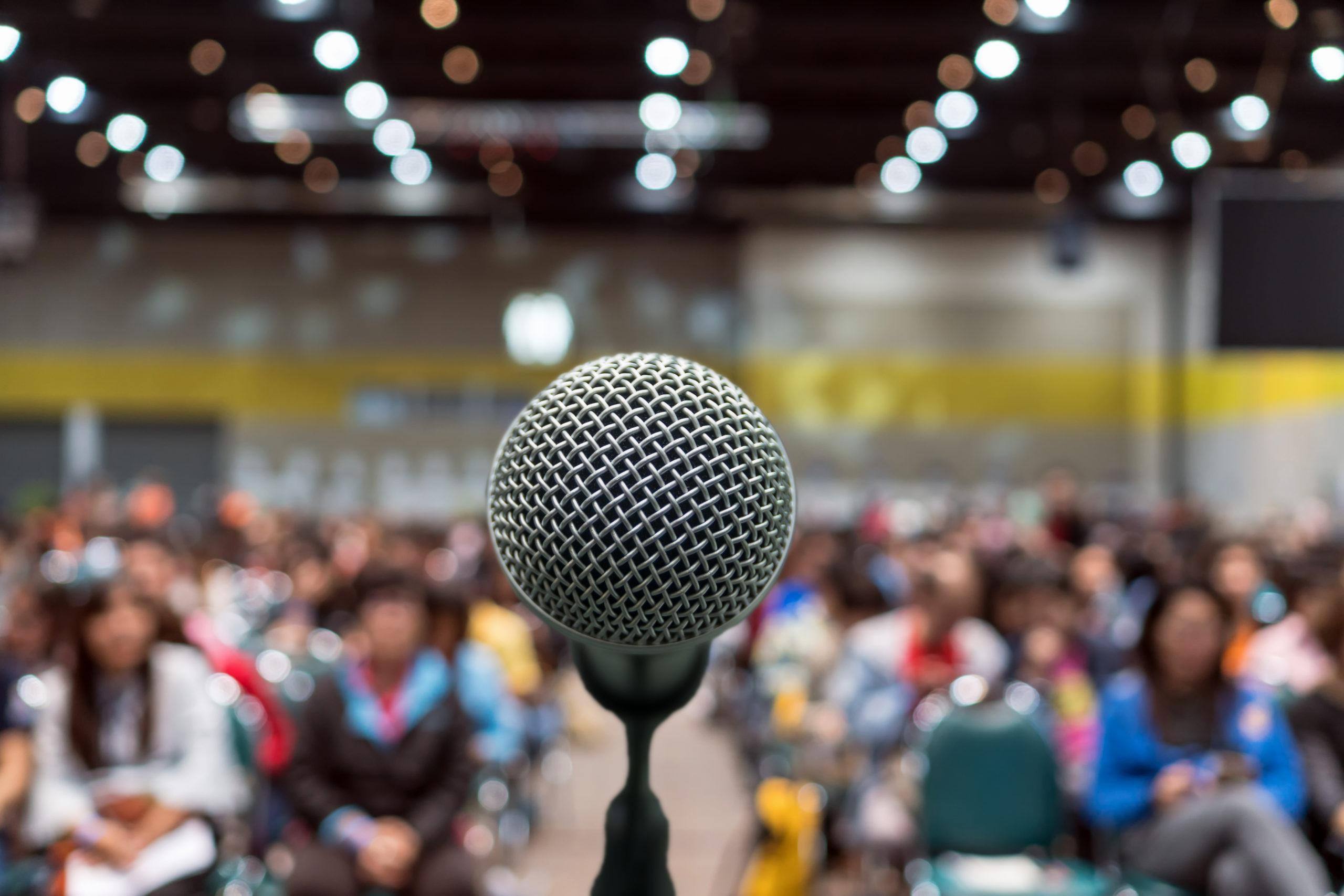 The Communication Revolution - Public Speaking Image