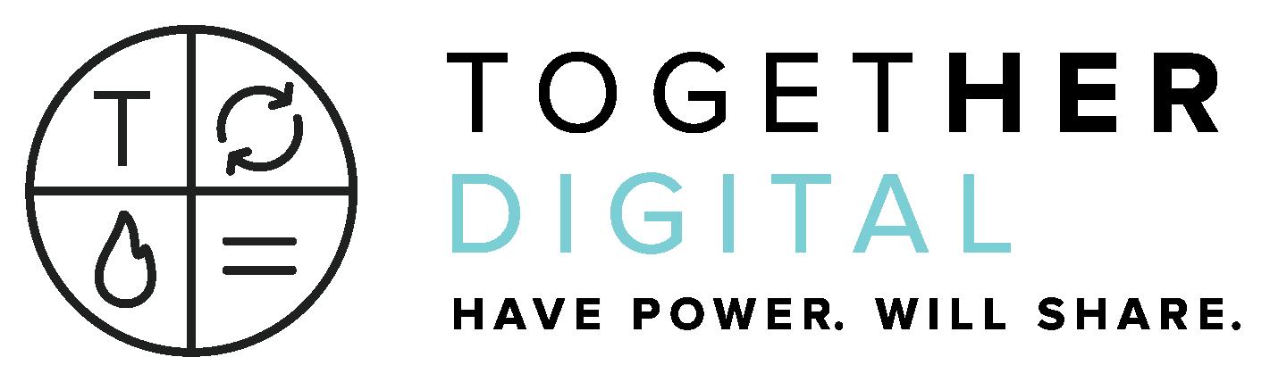 The Communication Revolution - Together Digital Logo